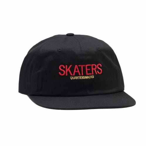 Quartersnacks Skaters Cap Black
