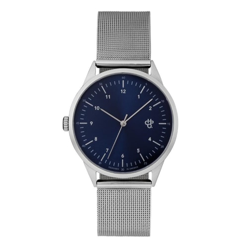 CHPO Nuno Watch - Navy/Silver