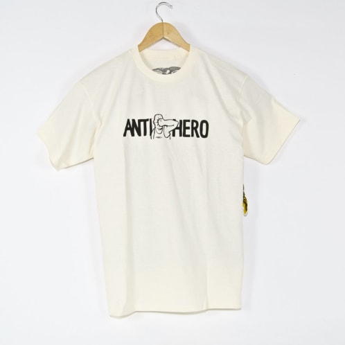 Anti Hero Skateboards - Face Punch T-Shirt - Creme