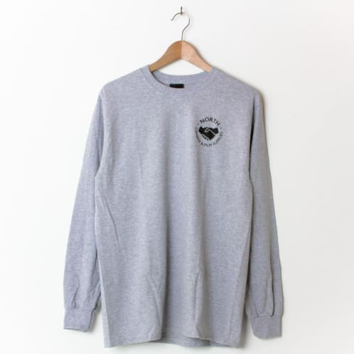 North Magazine North Supplies Longsleeve Heather Grey