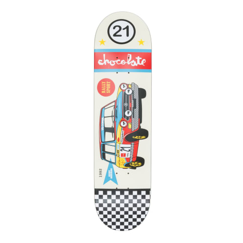 Chocolate Rally Cars Kenny Anderson Deck - 8.125""