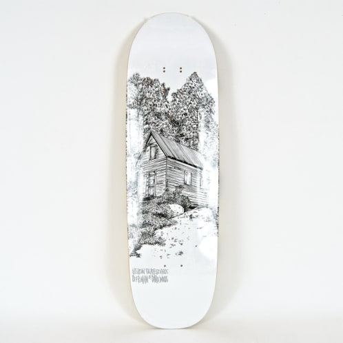 "Heroin Skateboards - 9.25"" 'Cabin Series 2' Dearman Of Darkwoods Deck"