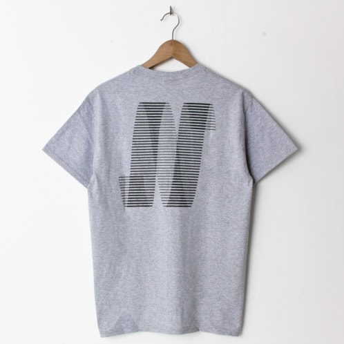 North Magazine N Logo Heather Grey (Back Print)