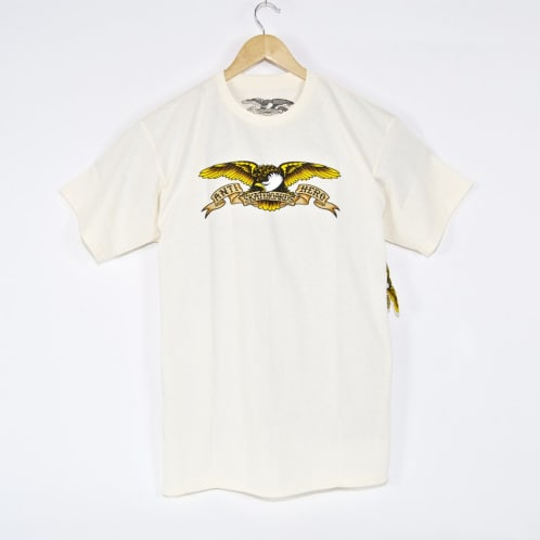 Anti Hero Skateboards - Eagle T-Shirt - Cream