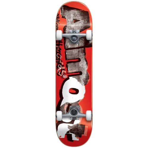 "Almost Skateboards - 8.0"" Distressed Complete Skateboard - Red"