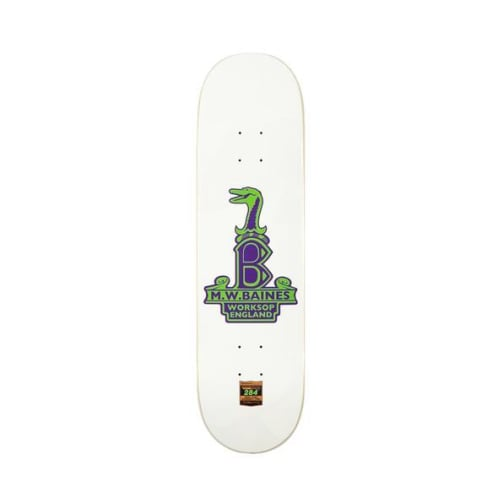 "Lost Art - 8.375"" Baines Raleigh-Gator Deck - High Concave Deck"