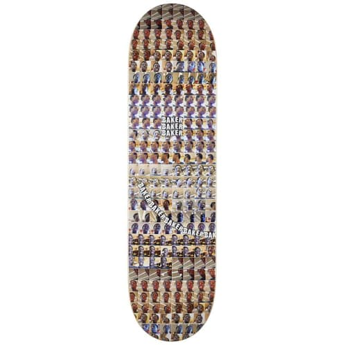 Baker Skateboards Kader Camera Roll Skateboard Deck - 8.25
