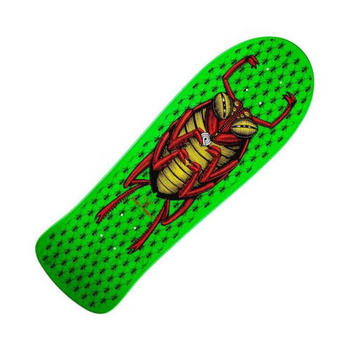 Powell Peralta Reissue Deck O.G. Bug Green Green 10 IN