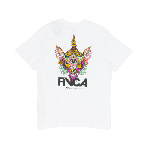 RVCA Screaming Bat T-Shirt - White