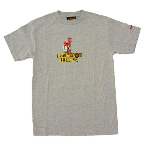 World Industries Read Between The Line T-Shirt Heather