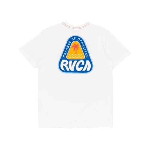 RVCA Castaway T-Shirt - Antique White