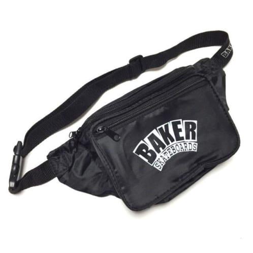 BAKER - ARCH LOGO SHOULDER BAG - BLACK