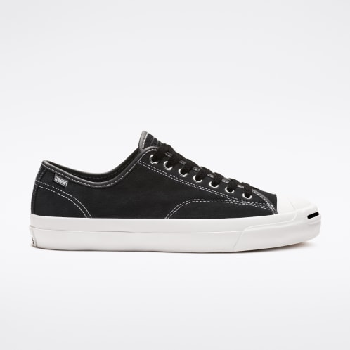 Converse Cons Jack Purcell Low Top Shoes - Black/Black/White