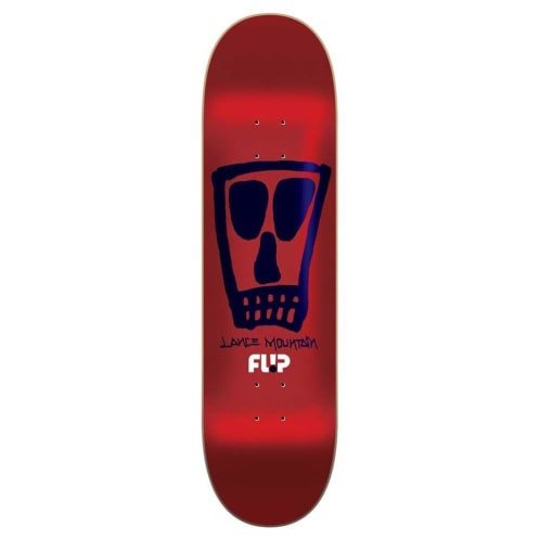 "Flip Skatebaords - 8.25"" Lance Mountain Vato Deck - Red Foil"