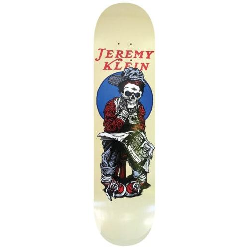 Hook Ups Jk Industries Black Eye Kid Skull Skateboard deck - 8.5