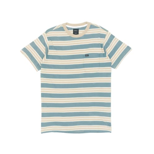 RVCA Lucas Striped T-Shirt - Pine Tree