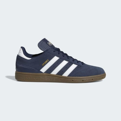 Adidas Busenitz Shoes - Collegiate Navy/Cloud White/Gum 5