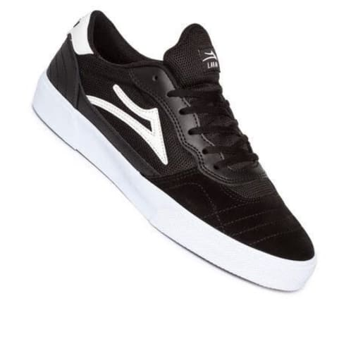Lakai Cambridge Black White Suede
