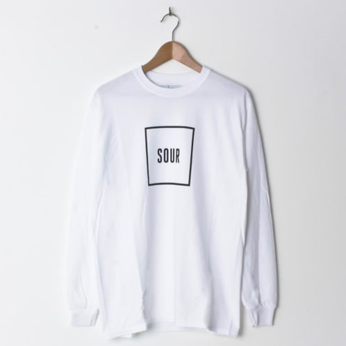 Sour Army Box Longsleeve White