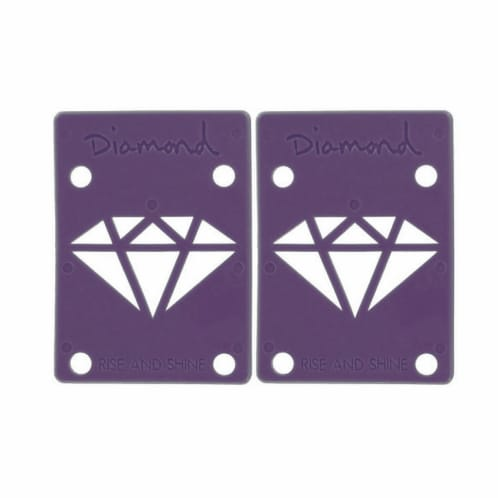"Diamond 1/8"" Purple Riser Pads"
