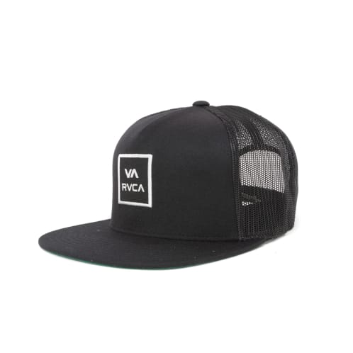 RVCA VA All The Way Trucker III Cap - Black