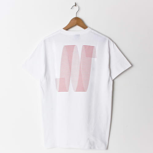 North Magazine N Logo White (Back Print)
