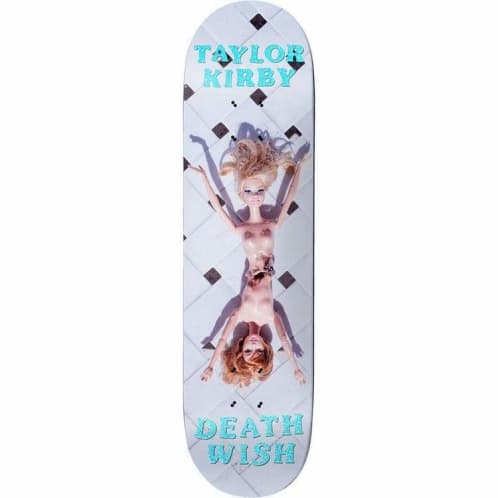 Deathwish Skateboards Taylor Kirby Plastic Surgery Deck - 8.125