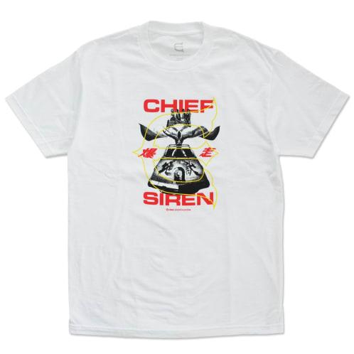 Evisen Chief Siren T-Shirt White