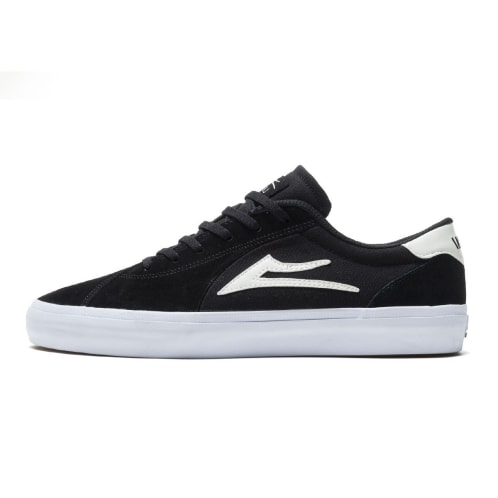 Lakai Flaco 2 Shoes - Black/White Suede