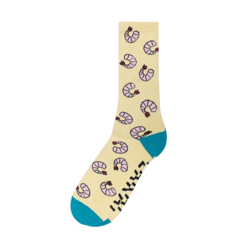 Lakai Mariscos Crew Socks - Yellow