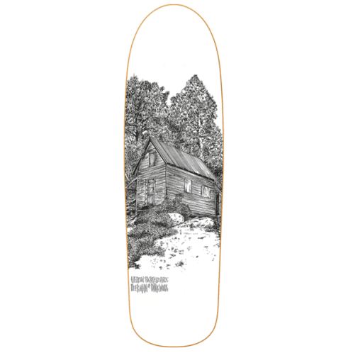 Heroin Skateboards Cabin Series 2 Deer Man of Dark Woods Shaped Skateboard Deck - 9.25