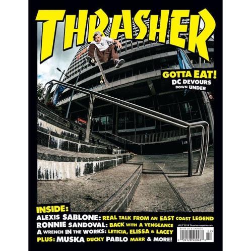 Thrasher Magazine July 2019 Issue