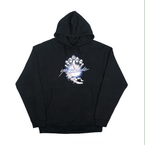 Yardsale - Scream Pullover Hooded Sweatshirt - Black