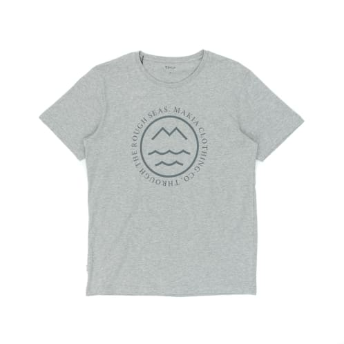 Makia Sight T-Shirt - Grey