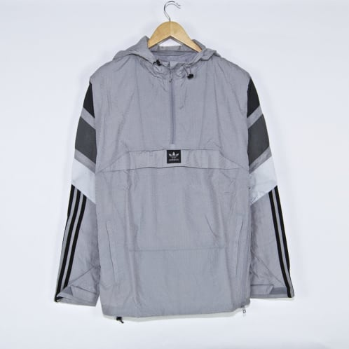 Adidas Skateboarding - 3ST Track Jacket - Light Granite / Solid Grey / Grey Five / Clear Onix