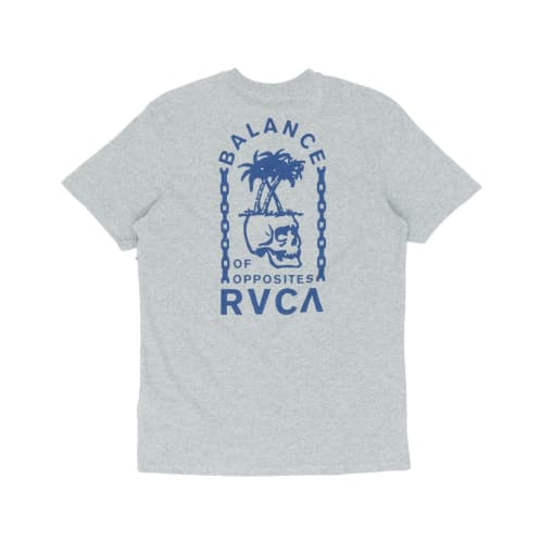 RVCA Bad Palms T-Shirt - Heather Grey