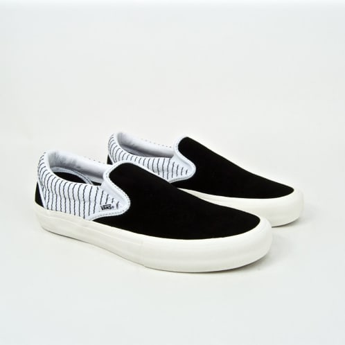 Vans - Peels Slip-On Pro Shoes - Black / True White