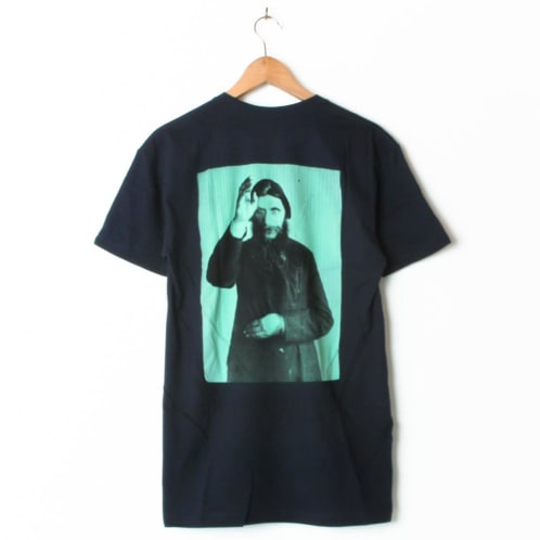 Theories Rasputin Navy (Back Print)