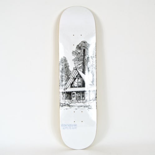 "Heroin Skateboards - 8.00"" 'Cabin Series 2' Chopper Deck"