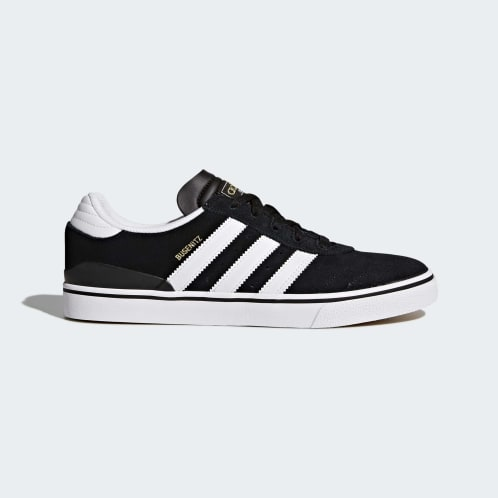 Adidas Busenitz Vulc Shoes - Core Black/FTWR White/Core Black