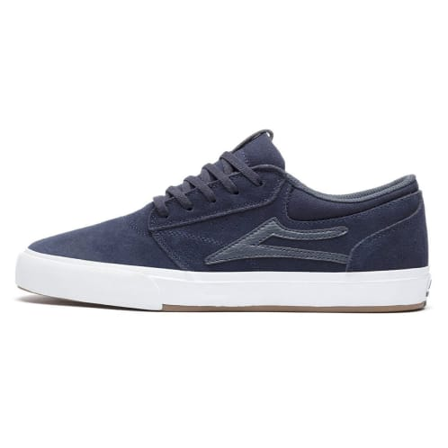 Lakai Griffin VLK Shoes - Navy Suede