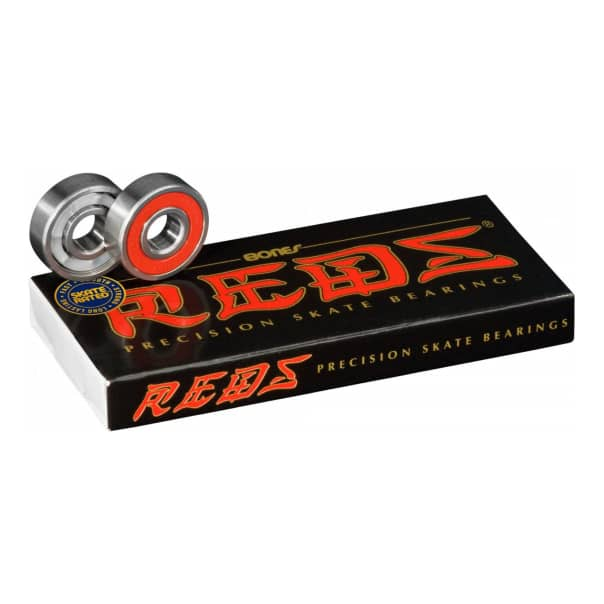 Bones Reds Skateboard Bearings 8 Pack