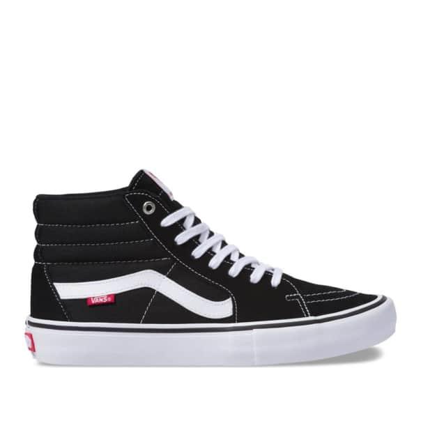 Vans Sk8 Hi Pro Skate Shoes - Black / White