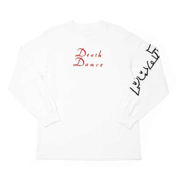 WKND Death Dance Long Sleeve T-Shirt - White
