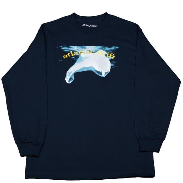 Atlantic Drift Save The Bags Longsleeve T-Shirt - Navy