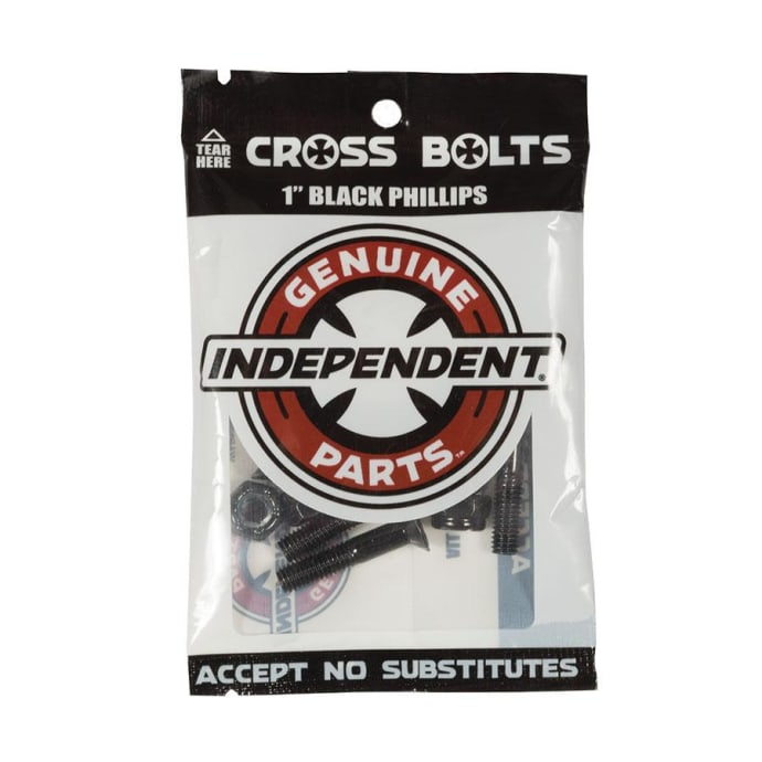 Independent Trucks - Independent 1 Inch Phillips Bolts Black | 1""