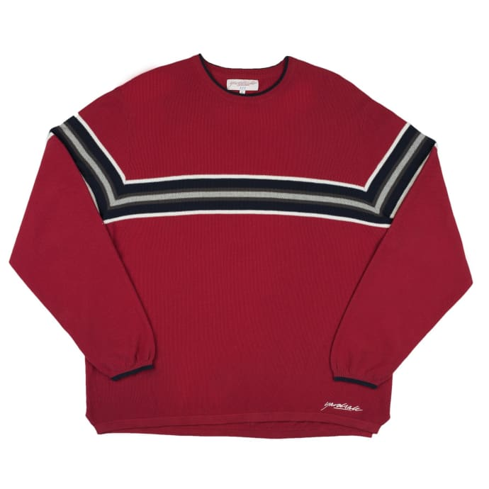 Yardsale Airway Knit Long Sleeve - Red