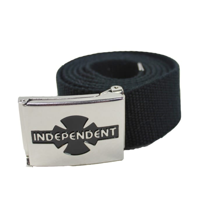 Independent Truck Co. Clipped Script Web Belt Black