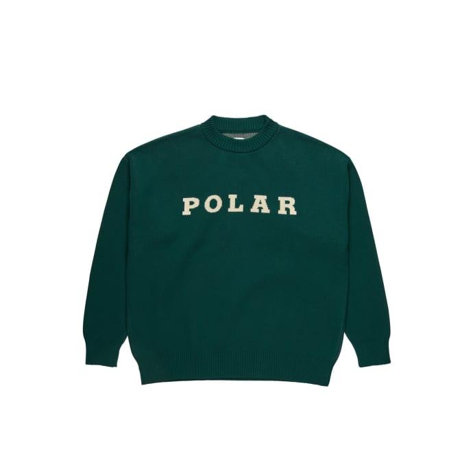 Polar Skate Co Polar Knit Sweater Dark Green