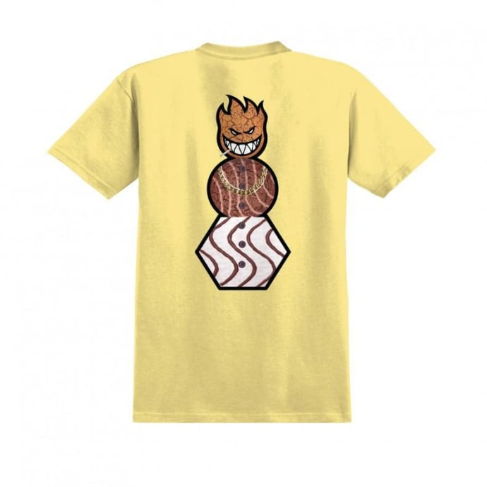 Spitfire x Quartersnacks Snackman T-Shirt - Banana